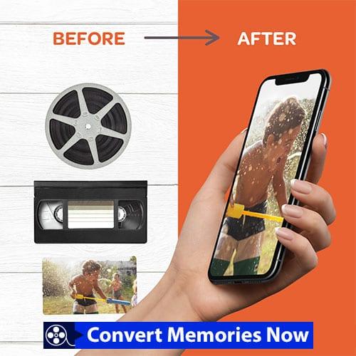 Convert Memories Now