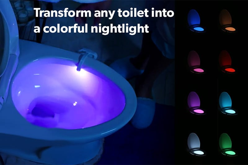 GlowBowl Toilet LED Motion-Activated Device Review [2019]