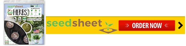 Order Now SeedSheet