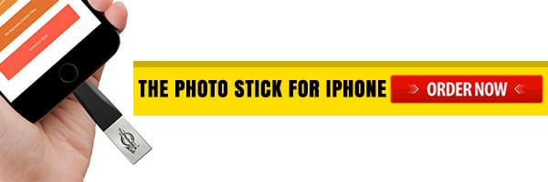 Order Now Photo Stick for iPhone