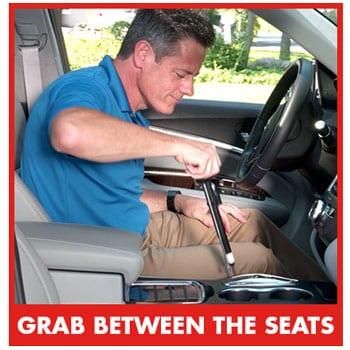 Odii Grab in car
