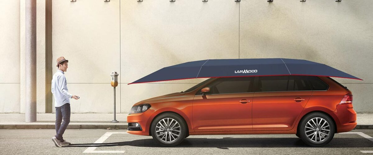 Lanmodo Automatic Car Tent Review – Can This Car Umbrella Protect Your Car From Natural Disasters