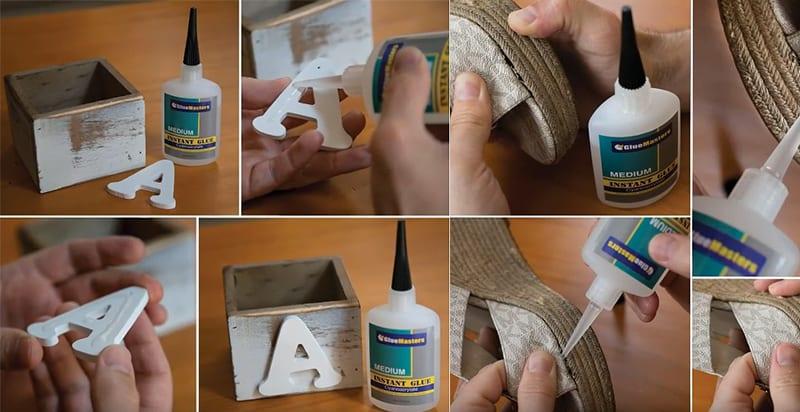 Glue Masters Professional Grade CA Super Glue