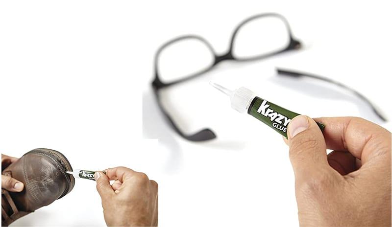 Krazy Glue Home & Office Super Glue application