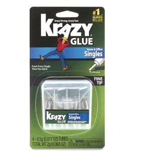 About Krazy Glue Home & Office Super Glue