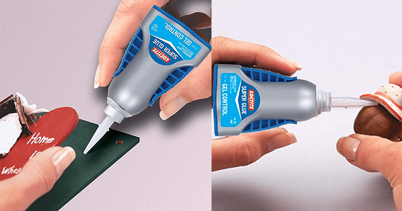 Loctite Super Glue Gel application