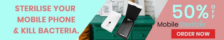 Mobile Phone Sterilizer Order Now