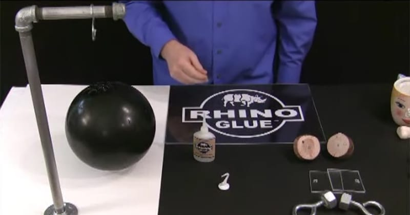 Rhino Heavy Duty Glue Ultra Kit application
