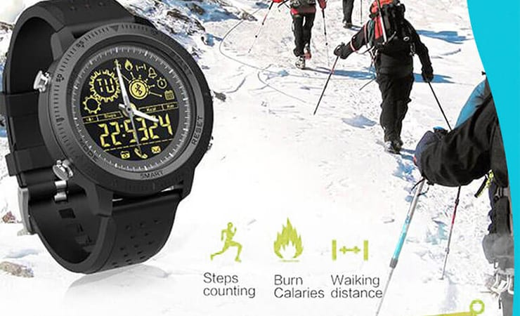 T-Watch Activity Tracking