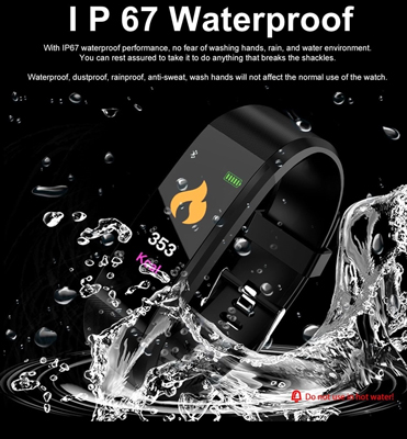 Water resistant ActiV8 Fitness Tracker