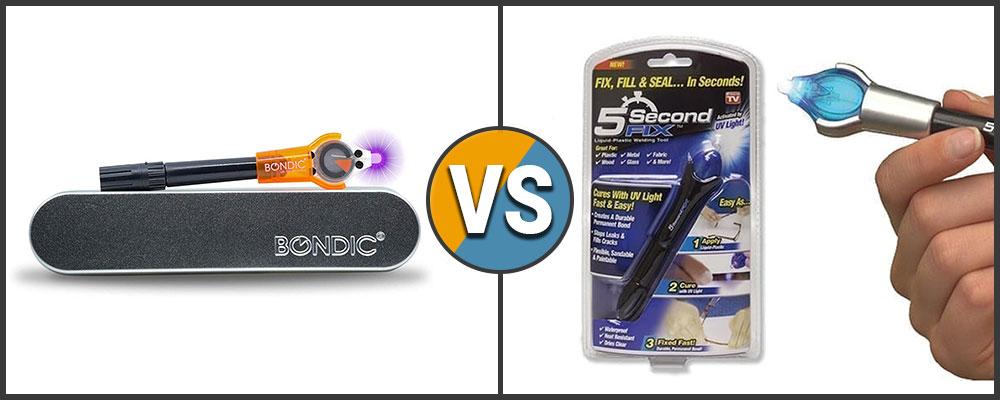 Bondic vs 5 Second Fix Comparison
