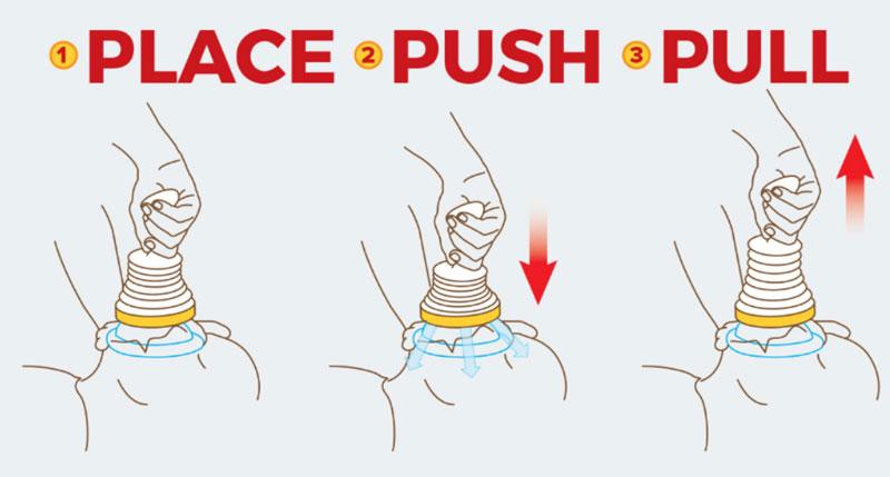 LifeVac Place Push Pull