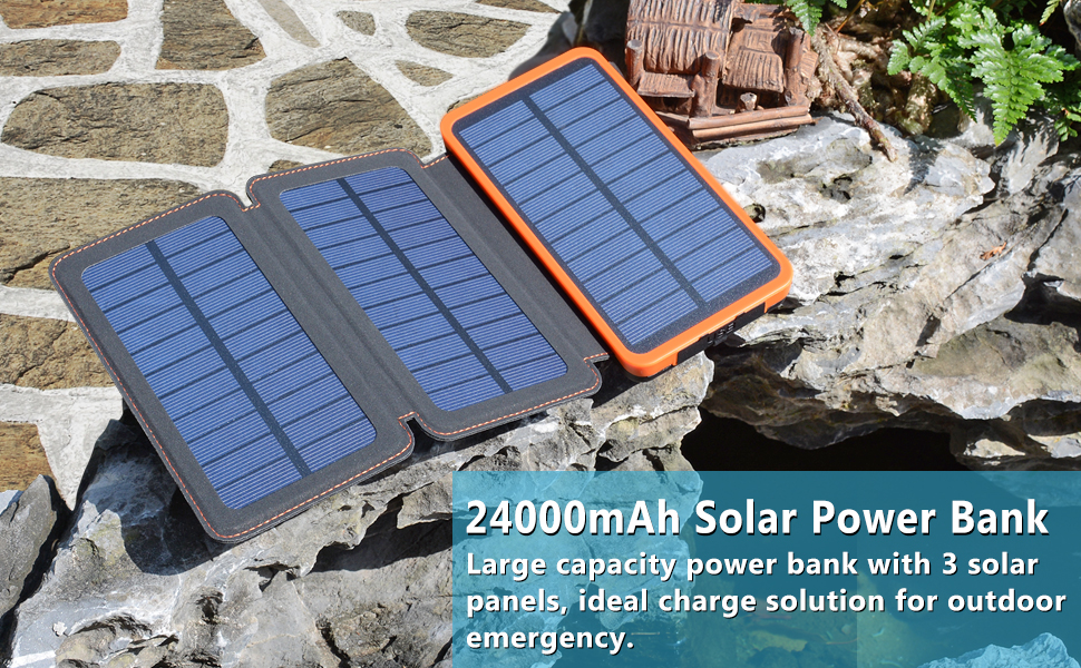 Best Solar Power Bank Feellee