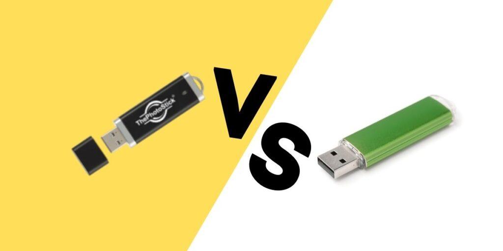 Photo Stick vs Flash Drive