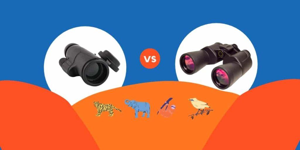 monocular vs binocular