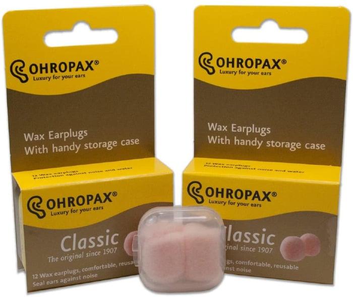 Ohropax Classic Wax Earplugs