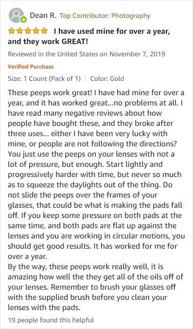 peeps review