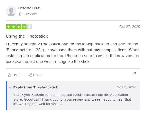 photostick mobile online reviews