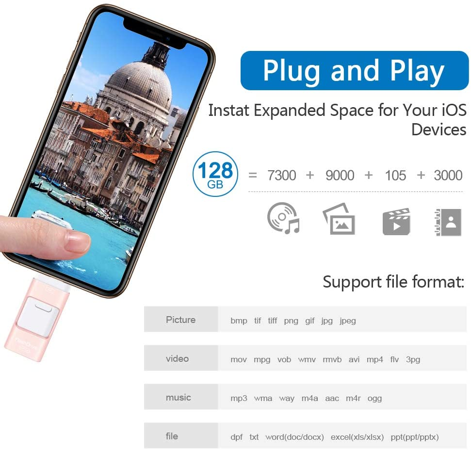 iFlash Drive support