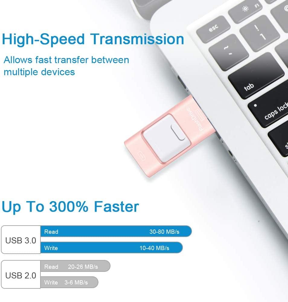 iFlash Drive transfer