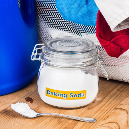 Baking soda smell remover