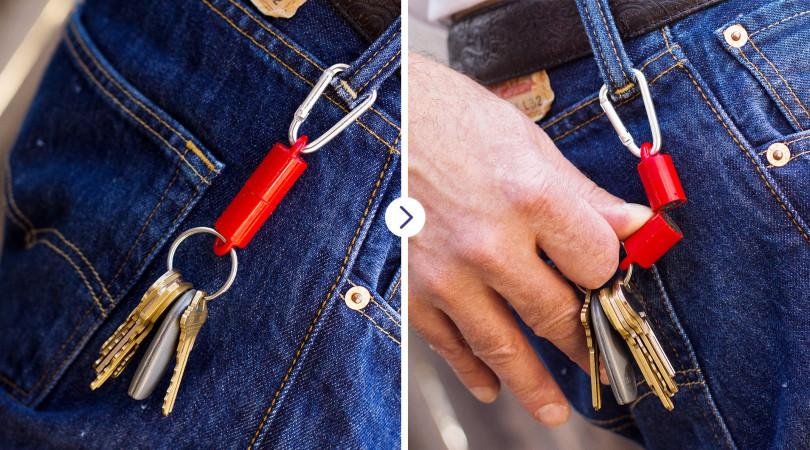 MagnetPAL keychain