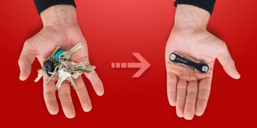 Pocket Key Organizer - Transforms Your Bulky Keychain Into A Handy Tool